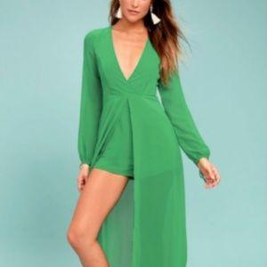 Make OFFER!!! New Lulus Emerald Green Jumper NWT